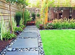 Home Garden Design Awesome Like The Large Paver And River Rock For Off The Low Deck Amber