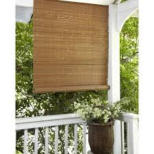 outdoor roll up bamboo blinds you ll