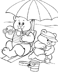 Coloring Pages Summer Animated Images Gifs Pictures