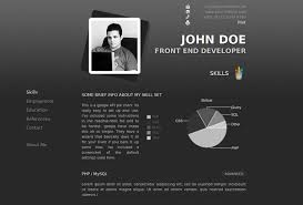 Programmer Personal Website Template Best Wordpress Cv Resume Themes