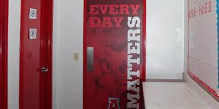 school gym doors. Door Wraps School Gym Doors