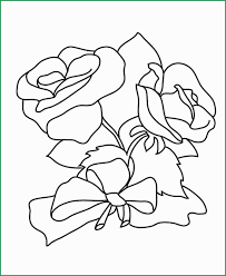 Wonderfully Models Of Rose Flower Coloring Pages Coloring Pages