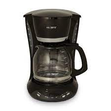 The updated, ergonomic carafe design with ounce markings takes the guesswork out of measuring. Mr Coffee Dwx23 12 Cup Programmable Coffee Maker Black