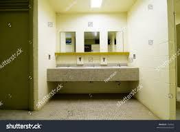 public bathroom mirror. Sinks Mirrors Public Bathroom Stock Photo 733942 Shutterstock And In A Mirror L
