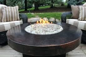 fire pit table cover image of round fire pit table cover uniflame granite propane fire pit
