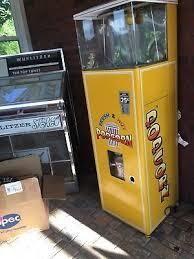 Hollywood Popcorn Vending Machine Fascinating VINTAGE POPCORN VENDING Machine 484848 PicClick