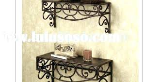 wood metal wall shelves pics shelf of living room that and industrial mounted garage metal wall shelves and wood