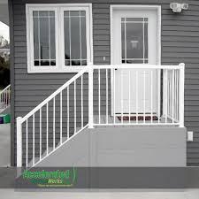 Outdoor Steps Outdoor Steps With Railing Side Entrance Backdoor Backyard Nj
