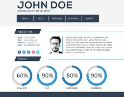 Web Resume Template New 28 Web Developer Resume Templates Free Download PSD Word