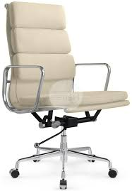 eames reproduction office chair. Brilliant Office Side Angle Soft Pad Office Chair Italian Leather With Eames Reproduction