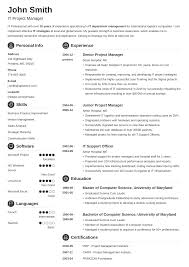 Sample It Project Manager Resumes Best Project Manager Resume Examples Template Guide