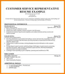 Resume Template For Customer Service Awesome Sales Rep Resume Sample