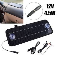 12v 4 5w solar panel battery charger portable diy module kit for car camping