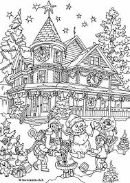 christmas house coloring pages. Plain Christmas Christmas House Coloring Page And House Coloring Pages H