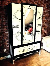 alice in wonderland furniture. Alice In Wonderland Furniture Inspired Wardrobe Clock Painted The Time Is . S
