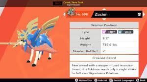 Comic Sans Font [Pokemon Sword & Shield] [Mods]