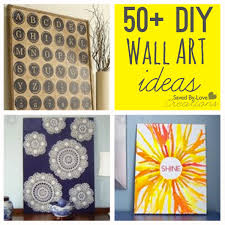 over 50 easy wall art diy ideas you can