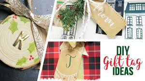 Gift Tag Design Ideas Diy Christmas Holiday Gift Tag Ideas