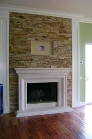 stone fireplaces with tv excellent mount over stone fireplace for interior for house with mount over