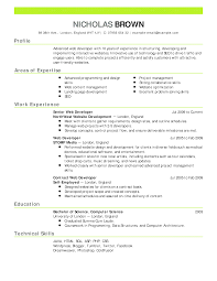 Excellent Glazier Resume Gallery Entry Level Resume Templates