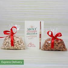 rakhi dry fruits bo rakhi gifts to bangalore