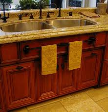 kitchen sink base cabinet. Stunning Kitchen Sink Base Cabinet Home Depot Brown Metal Faucet  Stainless Steel Double Bowl
