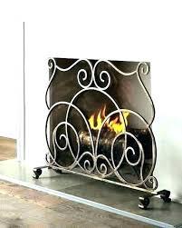 iron fireplace screen wrought iron fireplace screens decorative wrought iron fireplace screen inside wrought iron fireplace