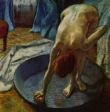 woman in the bath 1886 painting edgar degas woman in the bath 1886 art painting
