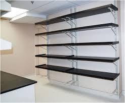 garage wall mounted shelving