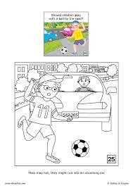 Small Picture Street safety coloring pages Hellokidscom