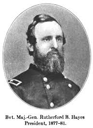 「President Rutherford B. Hayes」の画像検索結果