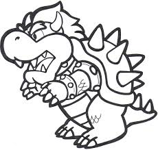 Small Picture bowser coloring pages