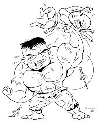 223 Dessins De Coloriage Hulk Imprimer Sur Laguerche Com Page 23