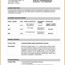 Sample Resume For English Teaching Job In India New Resumes School