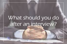 what to do after an interview edge careers what to do after an interview