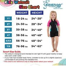 Seavenger Wetsuit Size Chart Seavenger Size Chart Bedowntowndaytona Com