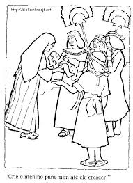 Moses Coloring Pages For Preschoolers Baby Coloring Pages Moses