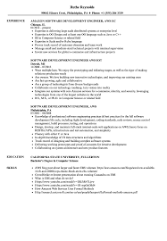 Software Development Engineer Aws Resume Samples Velvet Jobs