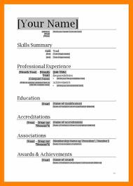 Resume Format Download In Ms Word Yederberglauf Verbandcom