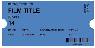 41 Free Editable Raffle Movie Ticket Templates Free Template