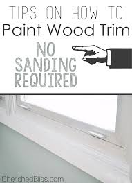 how to paint wood trim with these tips you can paint that ugly wood