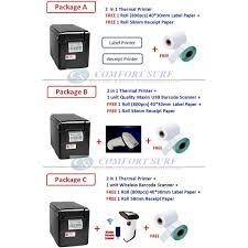 2in1 GPrinter GP2120TF <b>Barcode</b> Label Pos Cash Register Receipt ...