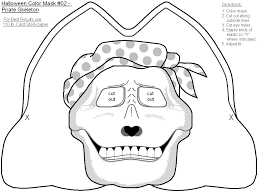 Small Picture Halloween Mask Coloring Pictures Fun for Halloween