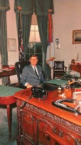 jfk years in office. Jfk At His Oval Office Desk Camelot John Jackie Years In