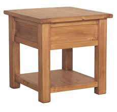 wood end tables. Rustic Solid Wood End Table Tres Amigos World Imports Tables