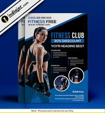 Training Flyer Examples Of Personal Fitness Training Flyers Psd Indiater