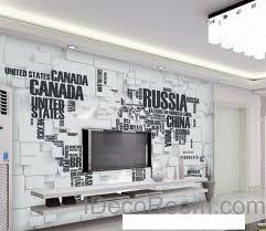 wall murals office. 3D Abstract World Map Wallpaper Wall Decals Art Print Mural Home Decor Indoor Office Murals