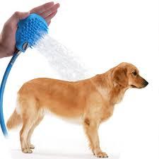 Amazon.com: Dog Shower Sprayer with Brush/Pet Bathing Sprayer ...