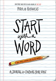 Amazon Com Start With A Word Guided Journal A Journal