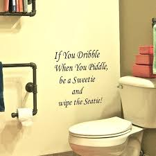 hot wall decals e wall stickers if you dribble funny toilet decals toilet bathroom stickerstoilet sticker on the bathroom wall decals e wall